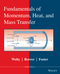 Fundamentals of Momentum, Heat, and Mass Transfer, Revised 6th Edition (1118947460) cover image