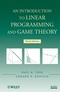 An Introduction to Linear Programming and Game Theory, 3rd Edition (0470232862) cover image