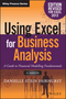 Using Excel for Business Analysis: A Guide to Financial Modelling Fundamentals, Edition Revised for Excel 2013 (1119062462) cover image