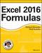 Excel 2016 Formulas (1119067863) cover image
