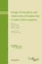 Design, Development, and Applications of Engineering Ceramics and Composites (0470889365) cover image