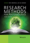 Research Methods for Postgraduates, 3rd Edition (1118341465) cover image