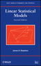 Linear Statistical Models, 2nd Edition (0470231467) cover image