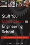 Stuff You Don't Learn in Engineering School: Skills for Success in the Real World (0471655767) cover image