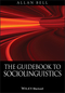 The Guidebook to Sociolinguistics (0631228667) cover image