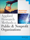 Applied Research Methods in Public and Nonprofit Organizations (1118737369) cover image