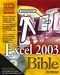 Excel 2003 Bible (0764539671) cover image