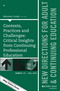 Contexts, Practices and Challenges: Critical Insights from Continuing Professional Education: New Directions for Adult and Continuing Education, Number 151 (1119311071) cover image