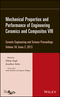 Mechanical Properties and Performance of Engineering Ceramics and Composites VIII: Ceramic Engineering and Science Proceedings, Volume 34, Issue 2 (1118807472) cover image