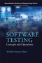 Software Testing: Concepts and Operations (1118662873) cover image