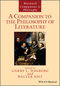 A Companion to the Philosophy of Literature (1118963873) cover image