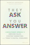 They Ask You Answer: A Revolutionary Approach to Inbound Sales, Content Marketing, and Today's Digital Consumer (1119312973) cover image