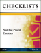 Checklists and Illustrative Financial Statements: Not-for-Profit Entities, 2017 (1945498773) cover image