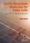 Earth-Abundant Materials for Solar Cells: Cu2-II-IV-VI4 Semiconductors  (1119052777) cover image
