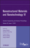 Nanostructured Materials and Nanotechnology VI, Volume 33, Issue 7 (1118205979) cover image