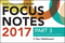 Wiley CIAexcel Exam Review 2017 Focus Notes: Part 3, Internal Audit Knowledge Elements (111943887X) cover image