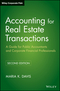 Accounting for Real Estate Transactions: A Guide For Public Accountants and Corporate Financial Professionals, 2nd Edition (0470603380) cover image