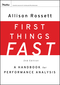 First Things Fast: A Handbook for Performance Analysis, 2nd Edition (0787988480) cover image