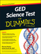 GED Science For Dummies (1119029880) cover image
