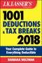 J.K. Lasser's 1001 Deductions and Tax Breaks 2018: Your Complete Guide to Everything Deductible (1119380480) cover image