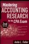 Mastering Accounting Research for the CPA Exam, 2nd Edition (0470293381) cover image