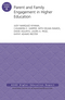 Parent and Family Engagement in Higher Education: AEHE Volume 41, Number 6 (1119205581) cover image