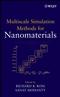 Multiscale Simulation Methods for Nanomaterials (0470105283) cover image