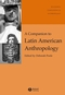A Companion to Latin American Anthropology (0631234683) cover image
