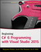 Beginning C# 6.0 Programming with Visual Studio 2015 (1119096685) cover image