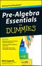 Pre-Algebra Essentials For Dummies (0470618388) cover image