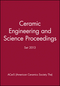 Ceramic Engineering and Science Proceedings Set 2013 (1118206088) cover image