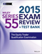 Wiley Series 55 Exam Review 2015 + Test Bank: The Equity Trader Qualification Examination (1118856988) cover image