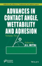 Advances in Contact Angle, Wettability and Adhesion, Volume Two (1119116988) cover image