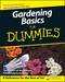 Gardening Basics For Dummies, 3rd Edition (0470037490) cover image