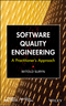 Software Quality Engineering: A Practitioner's Approach (1118592492) cover image
