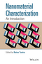 Nanomaterial Characterization: An Introduction (1118753593) cover image