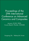 Proceedings of the 29th International Conference on Advanced Ceramics and Composites, January 23-28, 2005, Cocoa Beach, Florida, CD-ROM (1574982494) cover image
