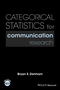 Categorical Statistics for Communication Research (1118927095) cover image