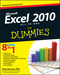 Excel 2010 All-in-One For Dummies (0470489596) cover image