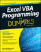 Excel VBA Programming For Dummies, 4th Edition (1119077397) cover image