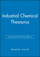 Industrial Chemical Thesaurus, Volume 2, 2nd Edition (0470144300) cover image
