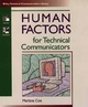 Human Factors for Technical Communicators (0471035300) cover image