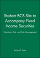 Student BCS Site to accompany Fixed Income Securities: Valuation, Risk, and Risk Management (0471396400) cover image
