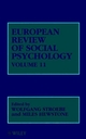 European Review of Social Psychology, Volume 11 (0471495700) cover image