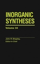 Inorganic Syntheses, Volume 34 (0471647500) cover image