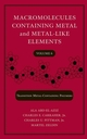 Macromolecules Containing Metal and Metal-Like Elements, Volume 6: Transition Metal-Containing Polymers (0471747300) cover image
