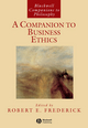A Companion to Business Ethics (0631201300) cover image