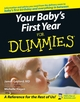 Your Baby's First Year For Dummies (0764584200) cover image
