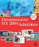 Dreamweaver MX 2004 Solutions (0782151000) cover image