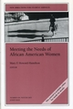 Meeting the Needs of African American Women: New Directions for Student Services, Number 104 (0787972800) cover image